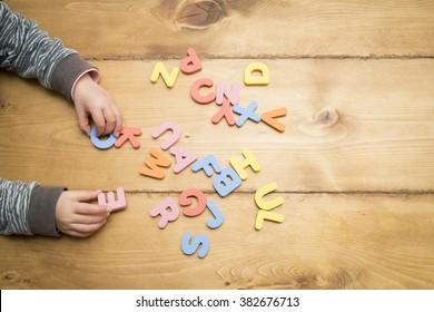 Study of the alphabet