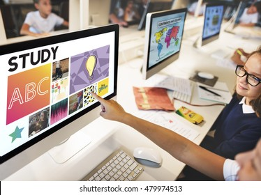Study Computer School Learning Academic Concept