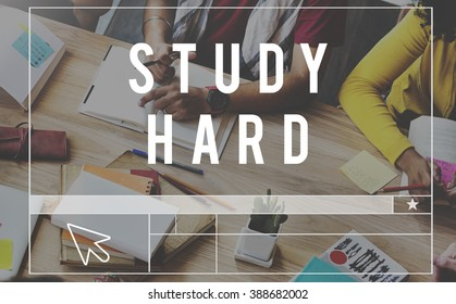 Study Hard Stressed Difficult Knowledge Concept