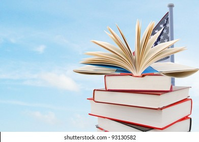A studying school background in USA