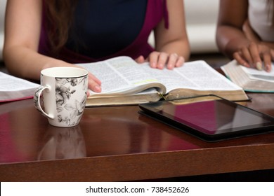 Studying the Word Of God With Friends