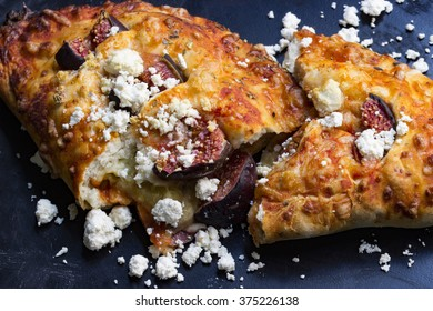 stuffed with figs and cheese pizza vegetarian