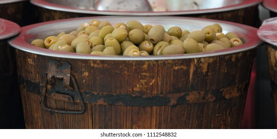 Stuffed Green Olives for sale