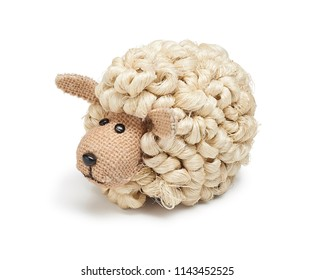 stuffed sheep ornament