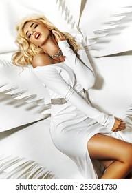 Stunning blonde beauty
