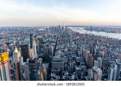 Stunning city view of New York city