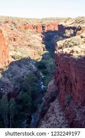 Stunning creek in Karijini National Park, Western Australia