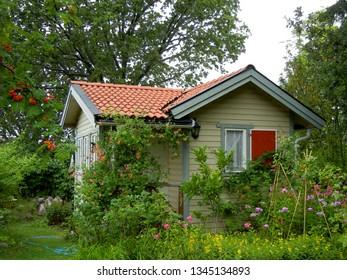Stunning garden shed in Stockholm