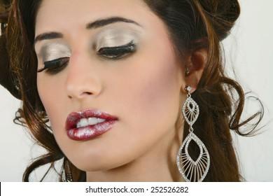Stunning Headshot of A Beautiful Woman