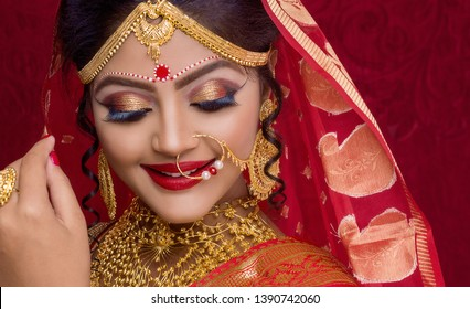 Indian Bridal Images Stock Photos Vectors Shutterstock