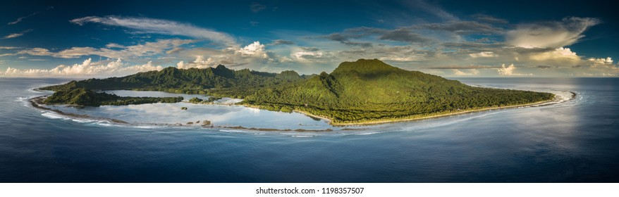 The stunning island of Kosrae is part of the Federated States of Micronesia.