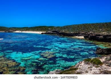 Stunning Mary Cove on Rottnest Island, Western Australia, Australia