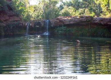 Stunning Natural Pool in Karijini National Park