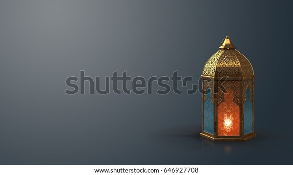 A stunning Ramadan candle lantern, Featuring such intricate patterns and cut work like an exotic treasure. Buy it now and start using this quality photo in your design.