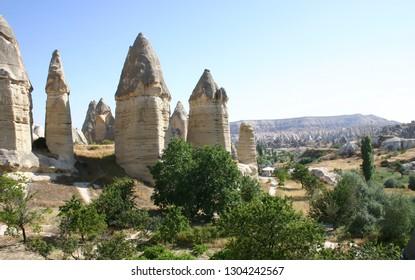 Stunning Rock Formations of Turkey's Cappadocia Region