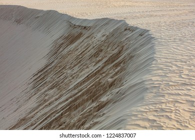 Stunning sand dune patterns at the Big Drift in Wilsons Promontory national park, Victoria, Australia