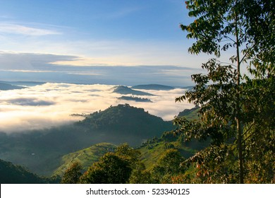 Stunning scenery and landscape in Uganda, Africa