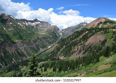Stunning Slate River Valley of Colorado