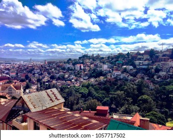 Stunning view of Antananarivo, the capital of Madagascar
