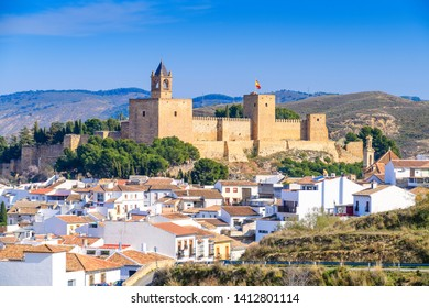 Stunning view of the city of Antequera. Andalusia. Spain