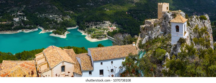 The stunning view from El Castell de Guadalest in Spain.