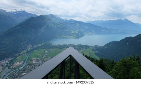 Stunning view from Harder Kulm (Interlaken, Switzerland)