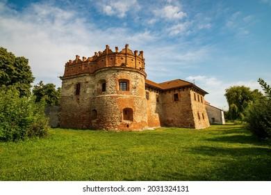 Stunning view of medieval Starokostiantyniv Castle, Khmelnytskyi region, Ukraine. Popular tourist attraction - Shutterstock ID 2031324131