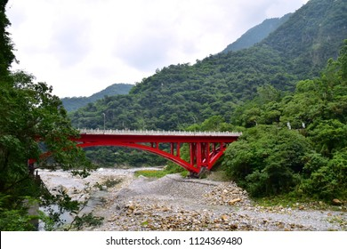 Stunning view on the beautiful Taroko Gorge National Park in Hualien, Taiwan