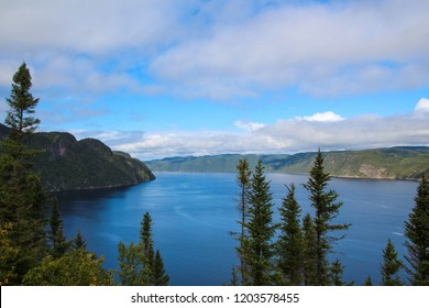 Stunning view on the Saguenay Fjord National Park