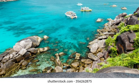 stunning view on the similan islands