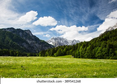 Stunning view on the way to the summit, Soca Valley, Slovenia