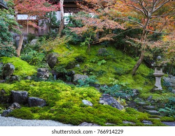 Stunning view from Rurikoin temple, Japan , located at Kyoto's northern mountains to offer stunning sites and an amazing atmosphere in spring and autumn.
