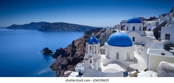 Stunning view of Santorini, Greece
