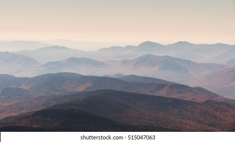 Stunning view from the summit of Mt. Washington - NH, USA