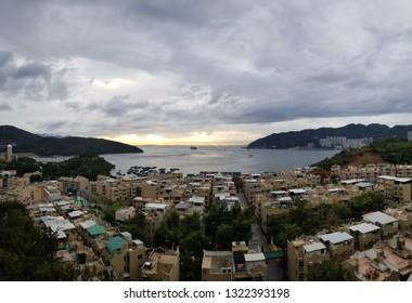 A stunning view of Tung Wan from Ma Wan Island, Hong Kong