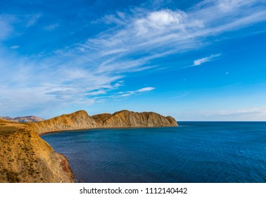 Stunning views of the Cape Chameleon and Koktebel Bay in the Crimea