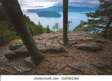 The stunning views of Howe Sound from the North West ridge of Mt. Gardner.  Below is the primary hunting ground for the resident Orca population.