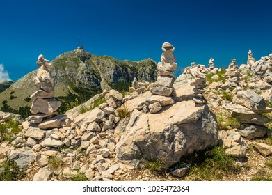 Stunning views over Mount Lovcen, Montenegro