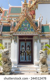 The stunning Wat Phra Kaew is Bangkok most important Buddhist temple and one of the main landmark in Thailand capital city.