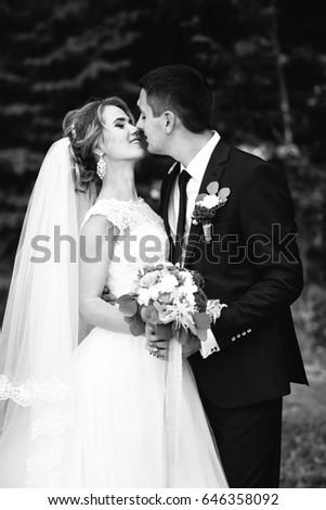 Stunning kisses