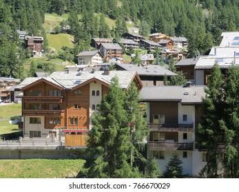 Stunning Zermatt in the summer