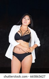 Curvy asian girls