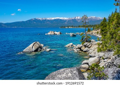 The Stunningly Blue Waters of Lake Tahoe