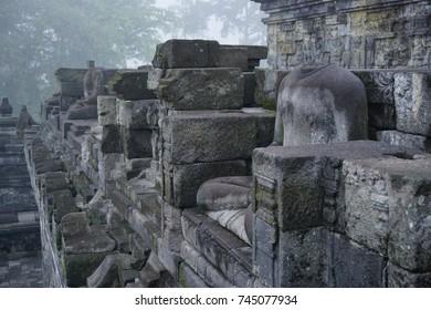 Stupa borobudur temple