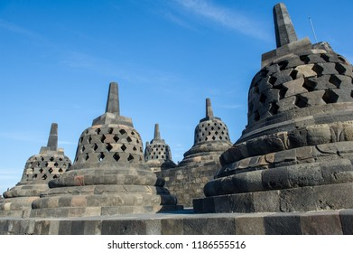 Stupa of Borobudur Temple, Jogja, Indonesia 18