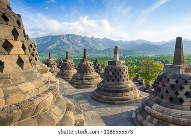 Stupa of Borobudur Temple, Jogja, Indonesia 3
