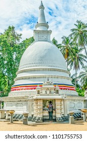 A stupa in a Buddhist Temple Complex is a mound-like or hemispherical structure containing relics that is used as a place of meditation.