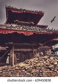 Stupa of Darbar Chowk Kathmandu City
