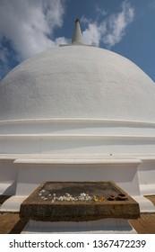 Stupa in Mihintale, Sri Lanka