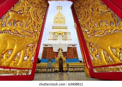 Stupa in Nakhon Phanom province , northeast of Thailand